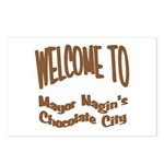 'Chocolate City' Postcards (Package of 8)
