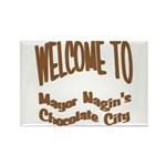 'Chocolate City' Rectangle Magnet (10 pack)