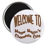 'Chocolate City' Magnet