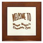 'Chocolate City' Framed Tile