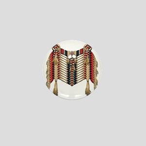 Native American Breastplate 10 Mini Button