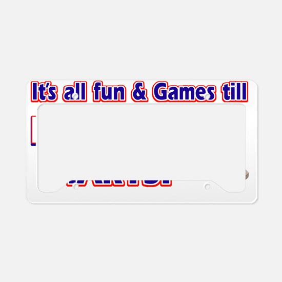 pingpong License Plate Holder