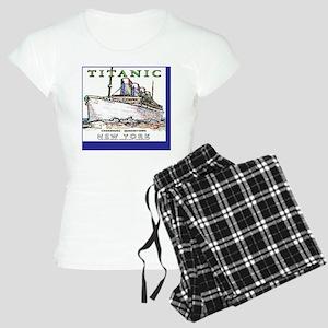 TG8NeonWhiteWineLabel Women's Light Pajamas