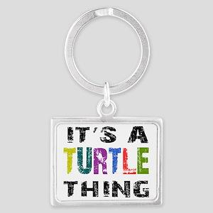 turtlething Landscape Keychain