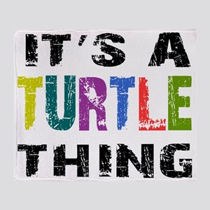 turtlething Throw Blanket