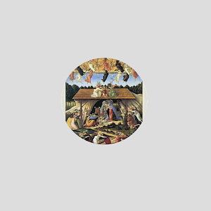 The Mystical Nativity - Botticelli Mini Button