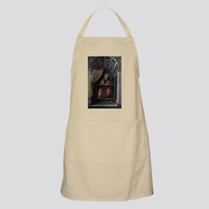 St. Augustine in His Cell - Botticelli Light Apron