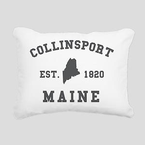 collinsportmaine Rectangular Canvas Pillow