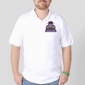 annette-g-trucker Golf Shirt