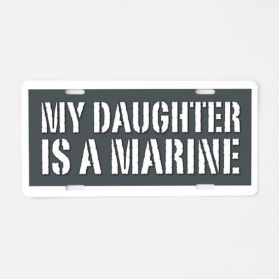 daughter_marine Aluminum License Plate