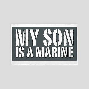 My Son is a Marine 3'x5' Area Rug