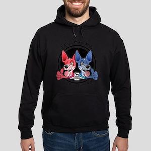 Tired Cattle Dog Sweatshirt