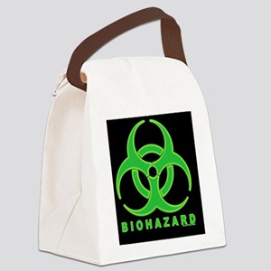 BioHazipadcase Canvas Lunch Bag