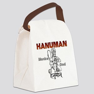 Hindu Hanuman Canvas Lunch Bag