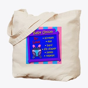 Baby Union By-Laws Tote Bag