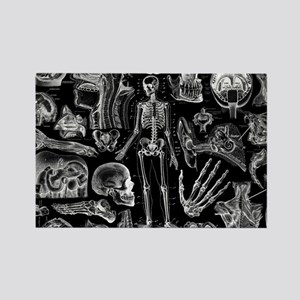 anatomy_black_pillow_cases Rectangle Magnet