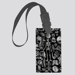 anatomy_b_twin_duvet Large Luggage Tag