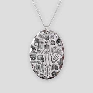 anatomy_W_queen_duvet Necklace Oval Charm