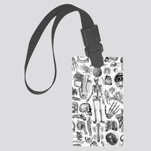 anatomy_W_twin_duvet Large Luggage Tag