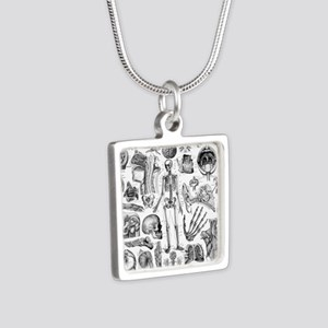 anatomy_W_twin_duvet Silver Square Necklace