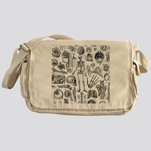 anatomy_W_twin_duvet Messenger Bag