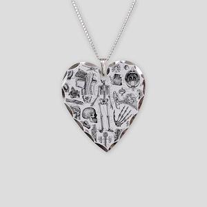 anatomy_W_twin_duvet Necklace Heart Charm