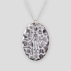 anatomy_W_twin_duvet Necklace Oval Charm