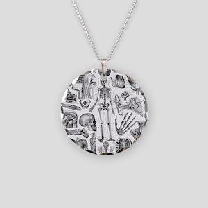 anatomy_W_twin_duvet Necklace Circle Charm