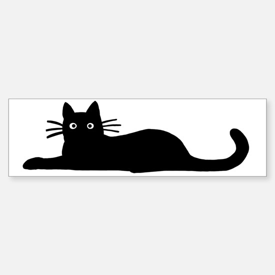 lyingcat Sticker (Bumper)
