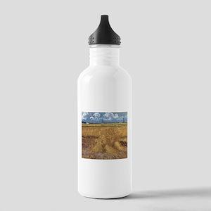 Wheat Field - Van Gogh - c1888 Water Bottle