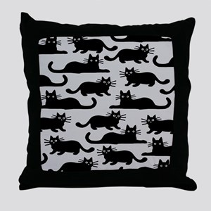 catspattern Throw Pillow