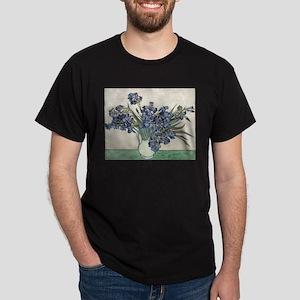 Vase with Irises - Van Gogh - c1890 T-Shirt