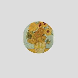 Vase with 12 sunflowers - Van Gogh - c1888 Mini Bu
