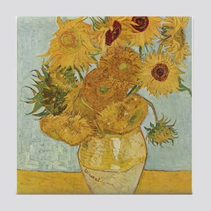 Vase with 12 sunflowers - Van Gogh - c1888 Tile Co