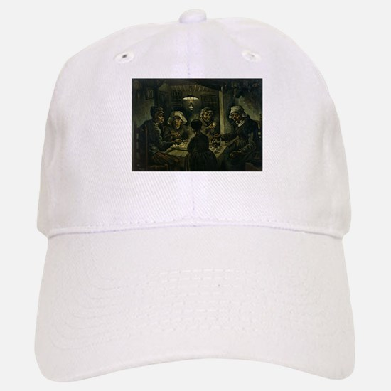 The Potato Eaters - Van Gogh - c1885 Baseball Baseball Baseball Cap