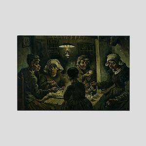 The Potato Eaters - Van Gogh - c1885 Magnets