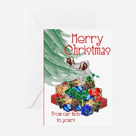 It's a Boer Goat Christmas Greeting Cards (Package