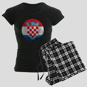 Croatia Women's Dark Pajamas