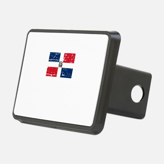 1DOMINICAN REP-black Hitch Cover