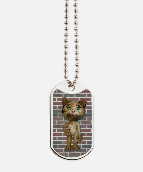 iPHONE4SLIDERalleycat2 Dog Tags