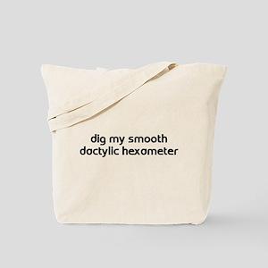 Hexameter Tote Bag