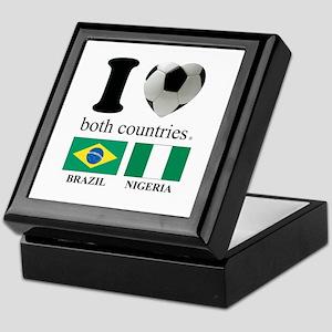 BRAZIL-NIGERIA Keepsake Box