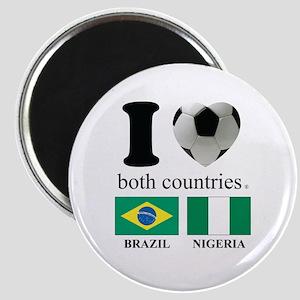BRAZIL-NIGERIA Magnet