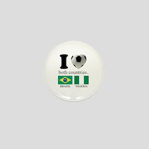 BRAZIL-NIGERIA Mini Button