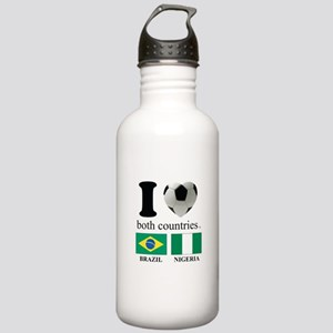 BRAZIL-NIGERIA Stainless Water Bottle 1.0L