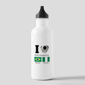 BRAZIL-NIGERIA Stainless Water Bottle 1.0L