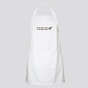 Just give me a to-do list Apron