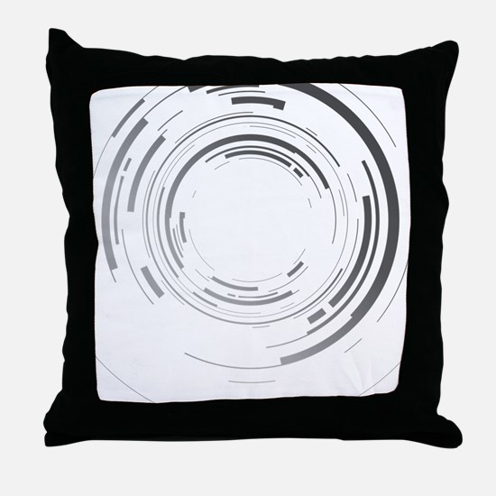 Abstract lens Throw Pillow