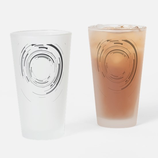 Abstract lens Drinking Glass
