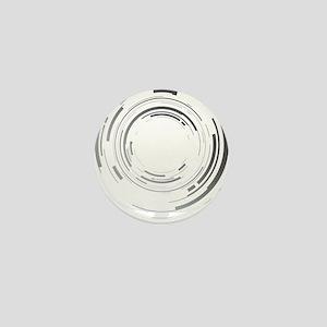 Abstract lens Mini Button